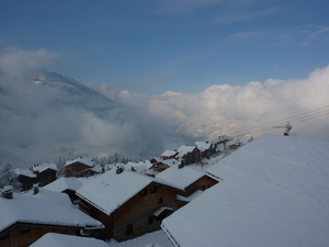 View down the Valley, Sainte Foy photo