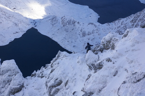 snowdon the hard way! photo