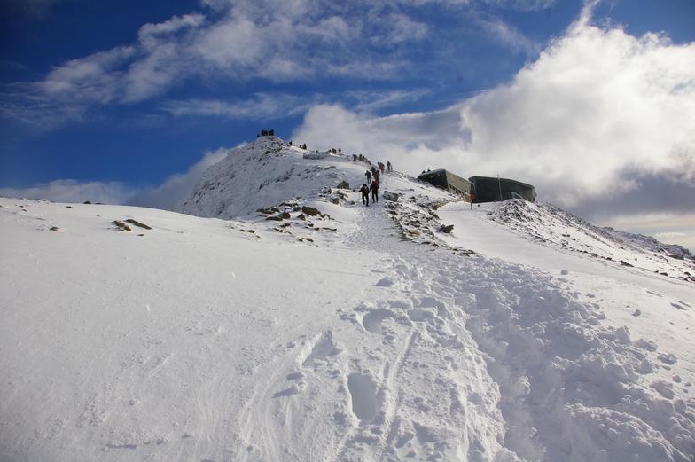 busy summit!, Snowdon