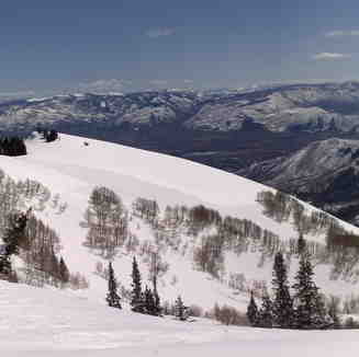 Snake Creek Pass panorama, Brighton Resort