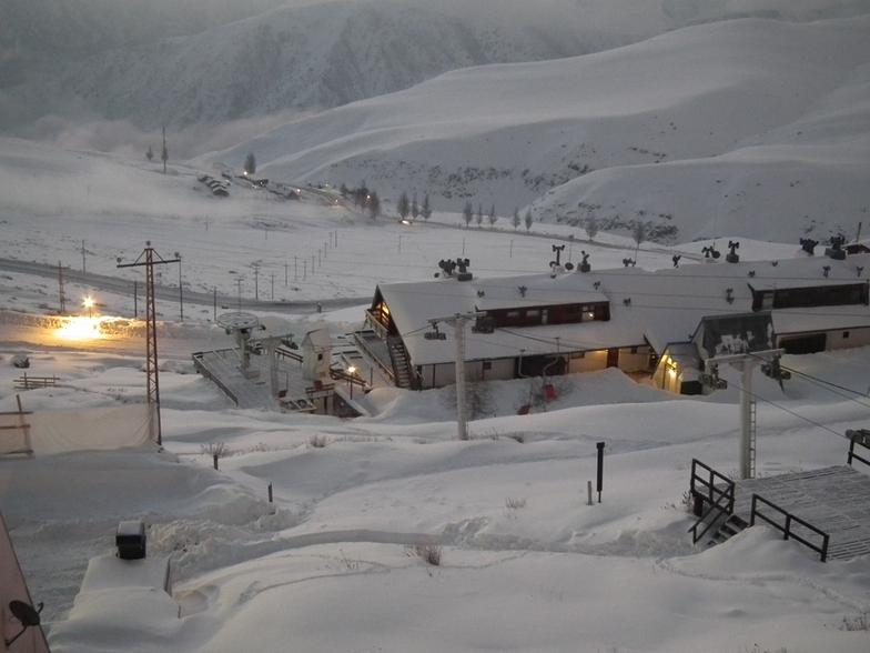 El Colorado snow