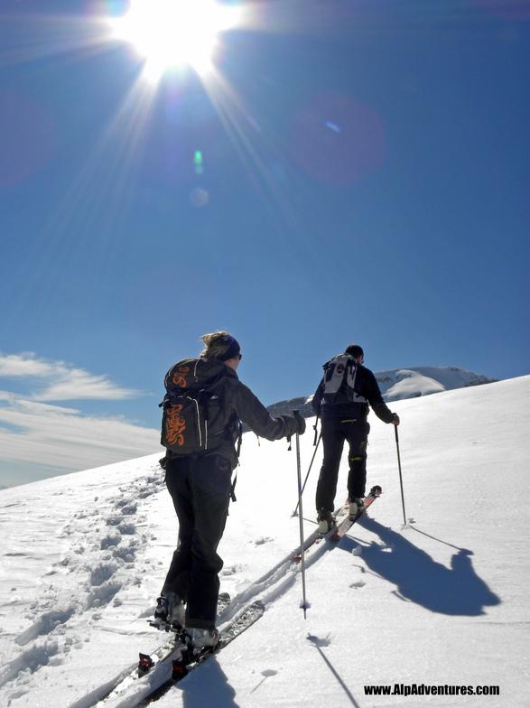 Skitouring, Flaine