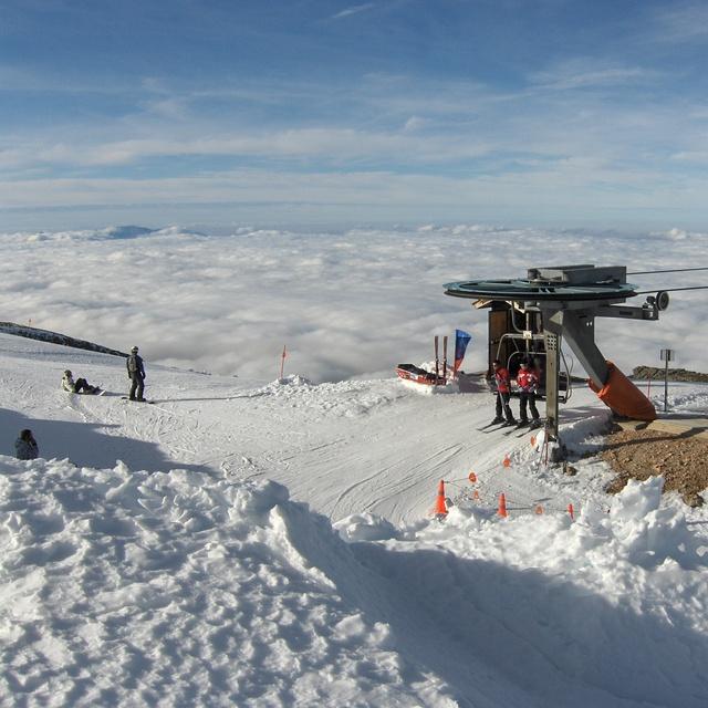 Mar de nubes desde cota 2250, Sierra de Béjar - La Covatilla