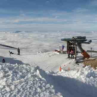 Mar de nubes desde cota 2250, Sierra de Béjar-La Covatilla