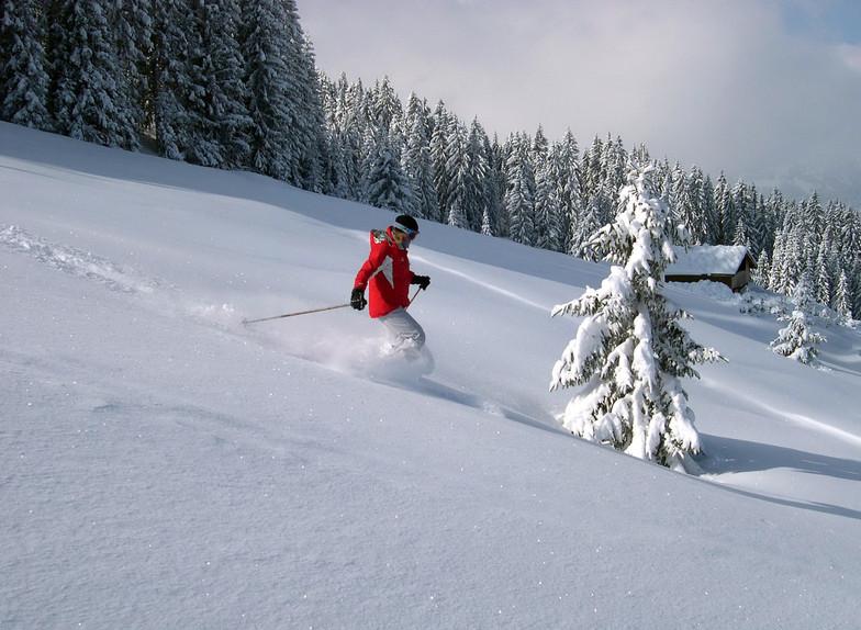 Skiing the Fields, St Gervais, Saint Gervais