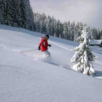 Skiing the Fields, St Gervais, Saint Gervais