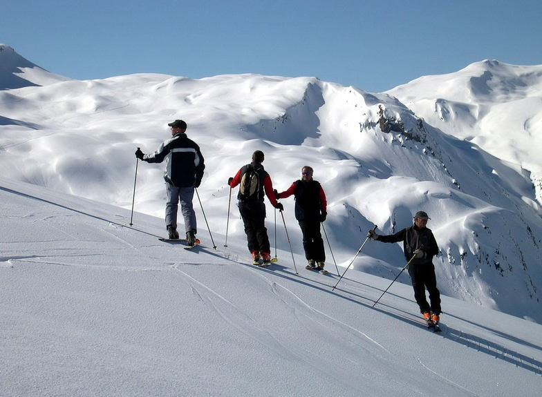 Which way to go?, Les Contamines