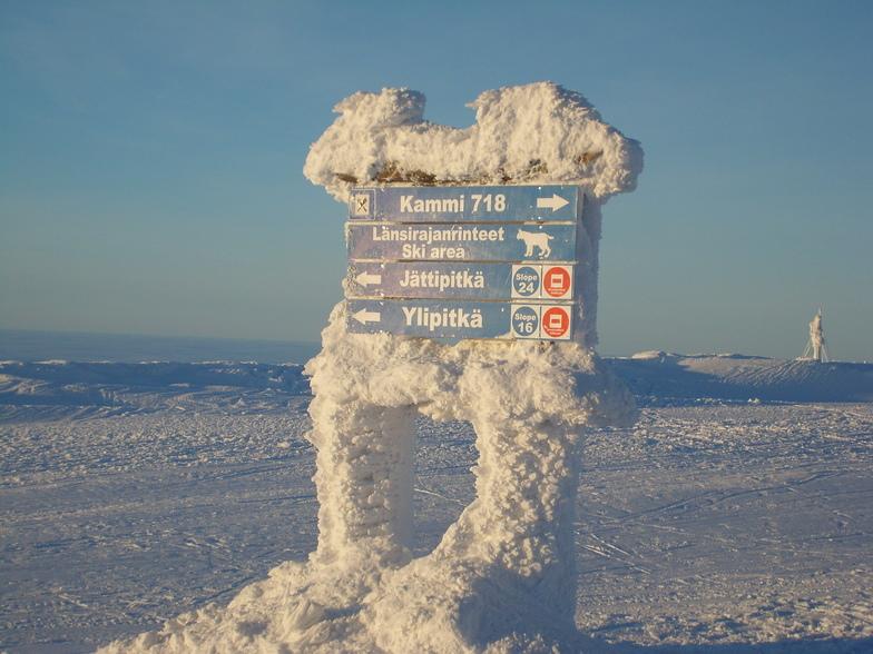 Yllas snow