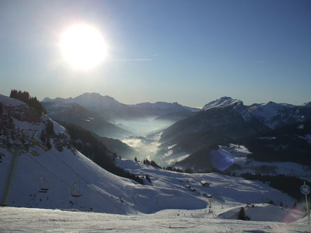 beautiful day in le grand bo, Le Grand Bornand