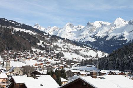 The authentic village of Le Grand Bornand