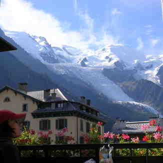 Breakfast time, Chamonix