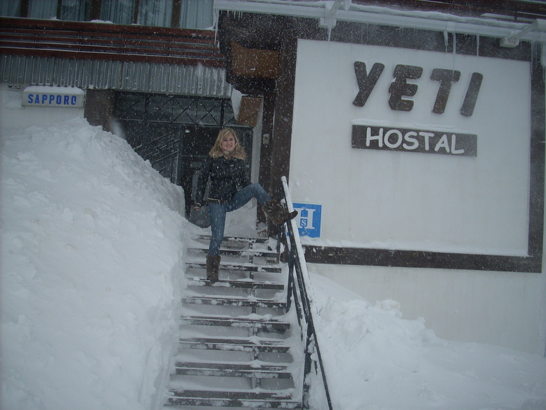 HEAVY SNOW, Sierra Nevada