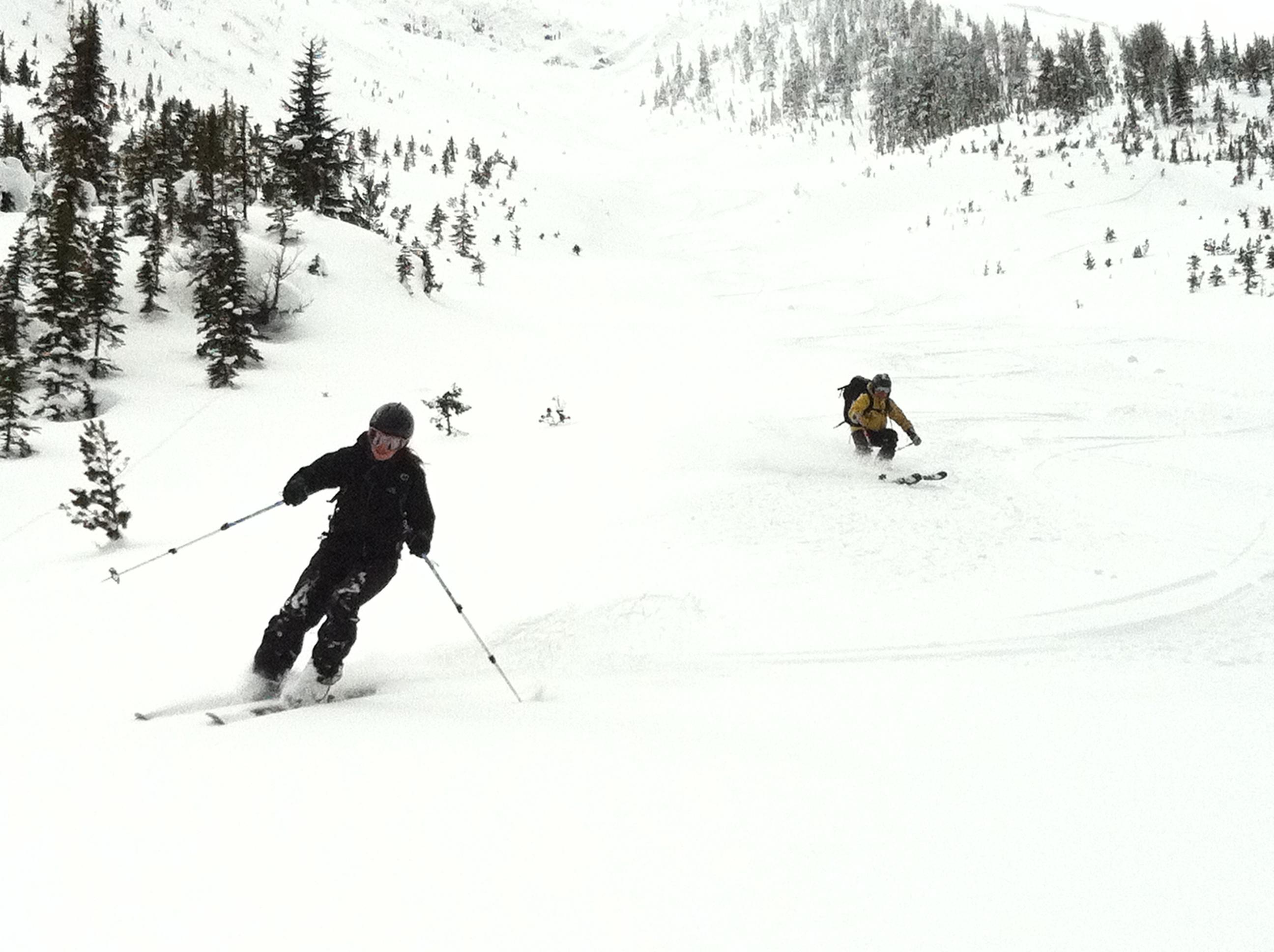 happy, safe Adrenalin Descents, Kicking Horse