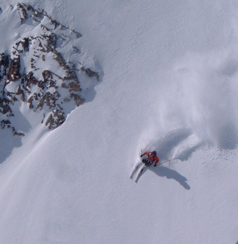 Shredding with Adrenalin Descents, Kicking Horse