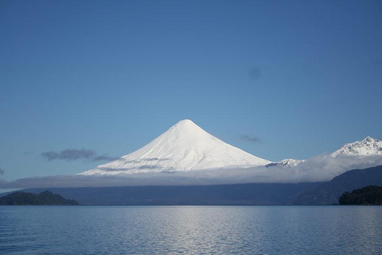 Volcán Osorno snow