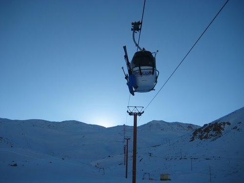 Pooladkaf Ski Resort snow