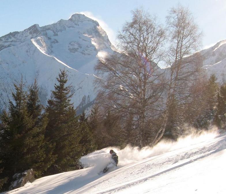 Fresh snow @ Les Deux Alpes