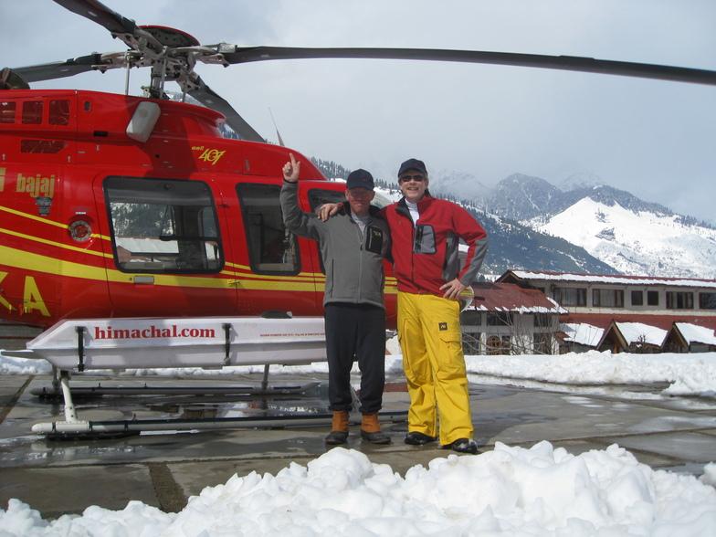 Himachal Heli, Manali (Himachal Heli-Ski)