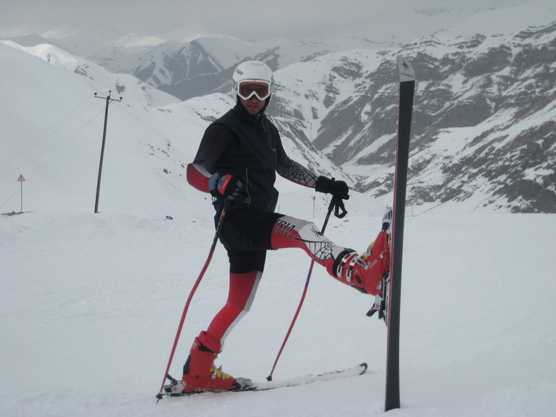hamid.zeraat pisheh, Pooladkaf Ski Resort