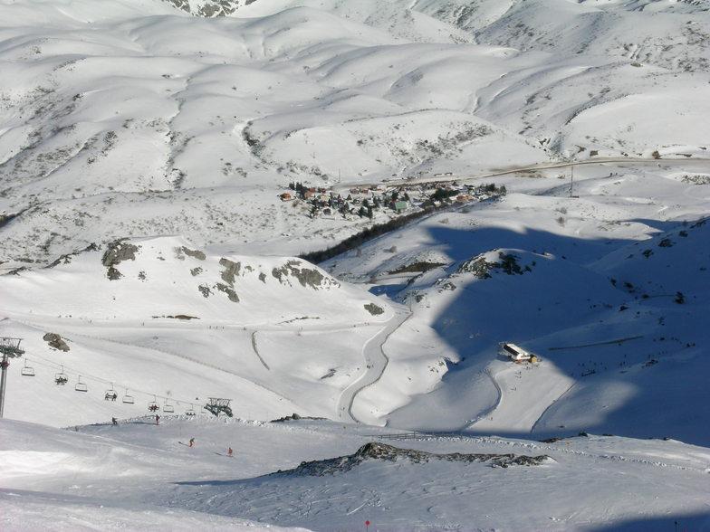 Fuentes de Invierno snow