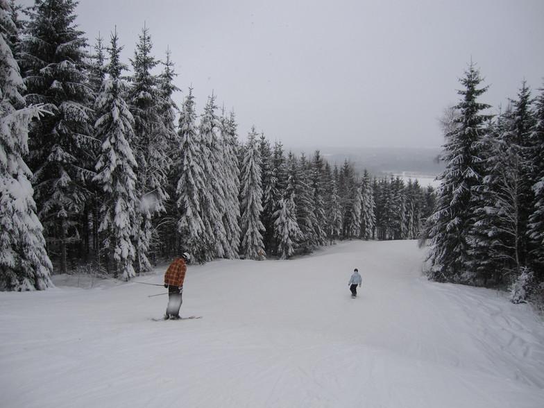 Typical piste in Vallasen, Vallåsen