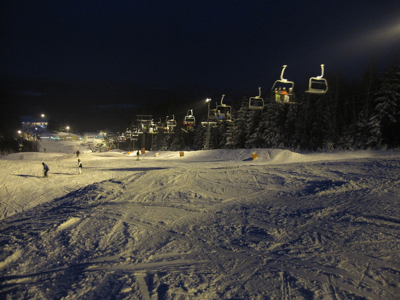 Nightskiing, Vallåsen