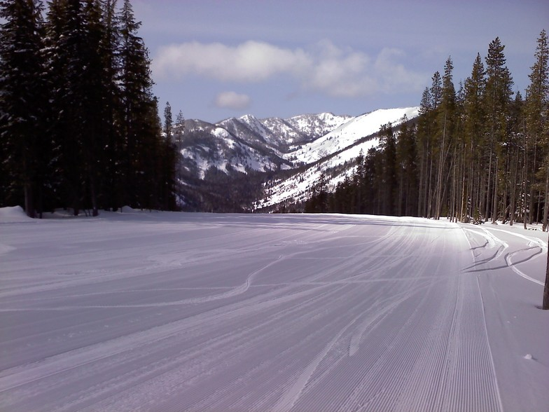 Lookout Pass snow
