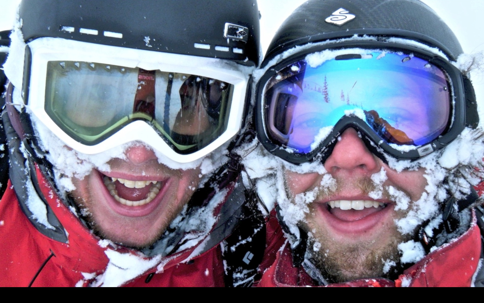 Everyday face shots from patrol, Castle Mountain Resort