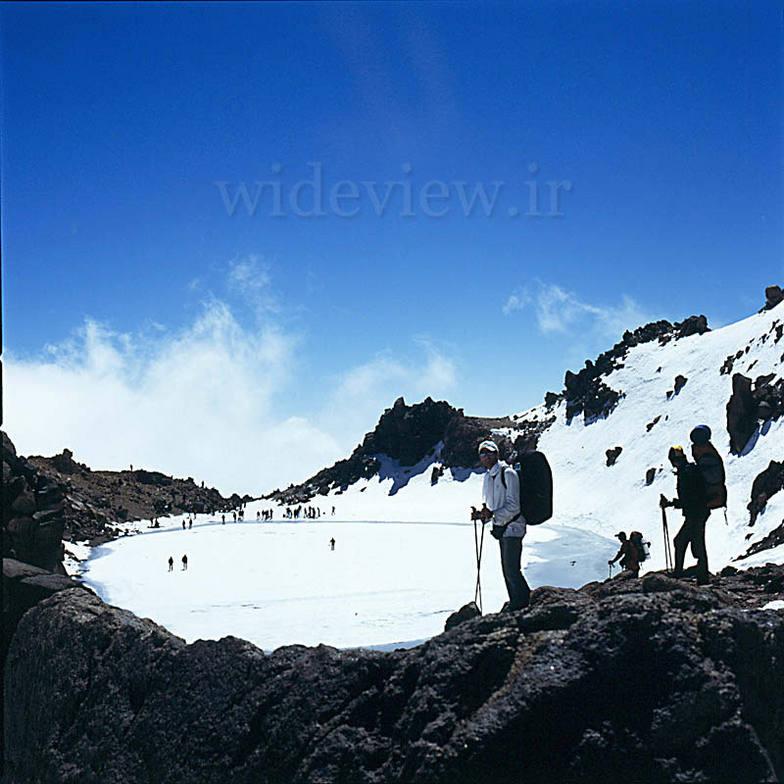 On Sabalan peak, Dizin