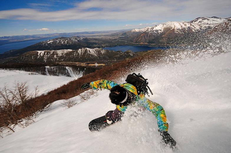 Cerro Catedral, Argentina Snowboarding