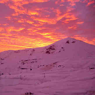 Sunset, Valle Nevado, Chile