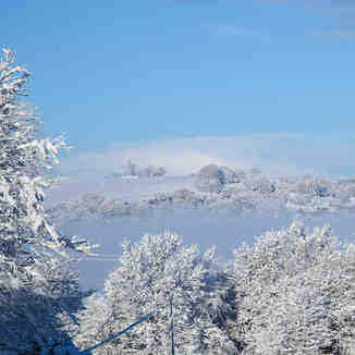 Winter 2010, Llantwit Fardre, South Wales, Pen-y-Fan