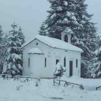 Church Before Pertouli Ski Center