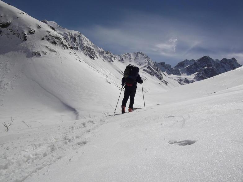 Turkey Heliski-Ayder snow