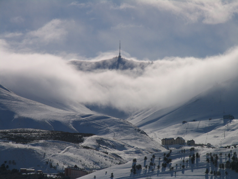 Mt Palandöken snow