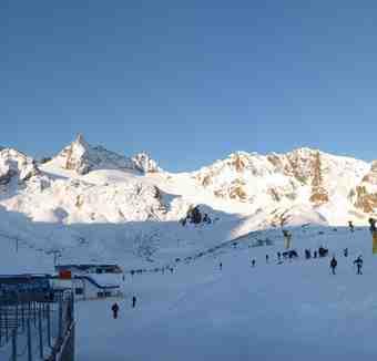 Morning Panorama, Stubai Glacier