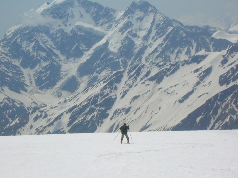 Mt Elbrus snow