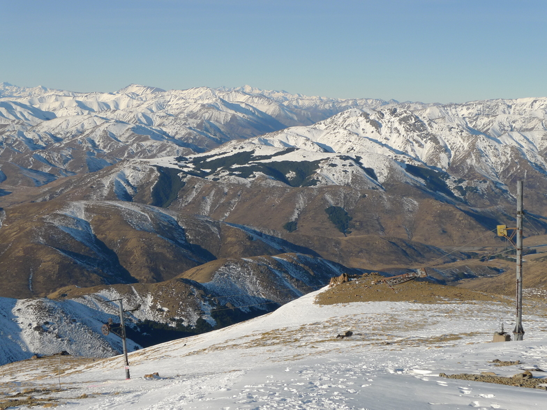 Hanmer Springs Ski Area snow