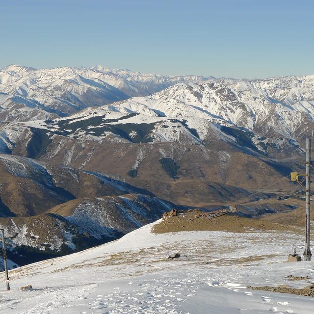 Bare Slopes, Hanmer Springs Ski Area