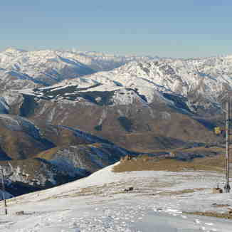 Bare Slopes, Hanmer Springs Ski Area