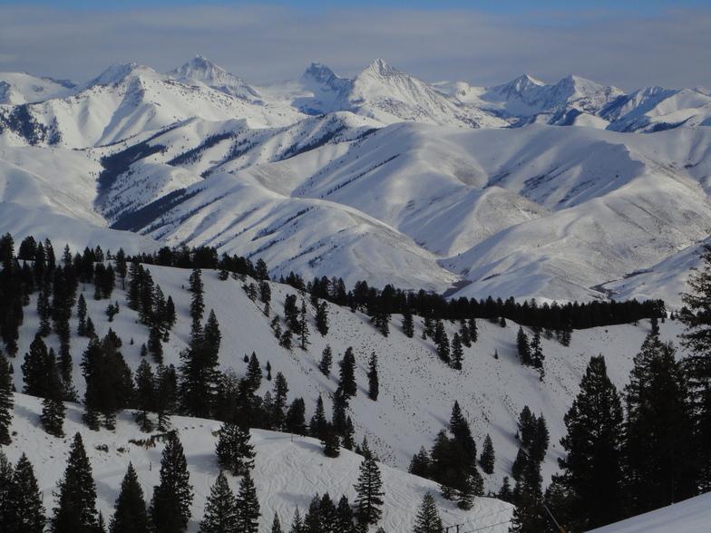 Sun Valley snow