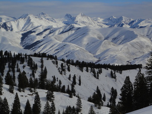 Sawtooth Range, Sun Valley photo