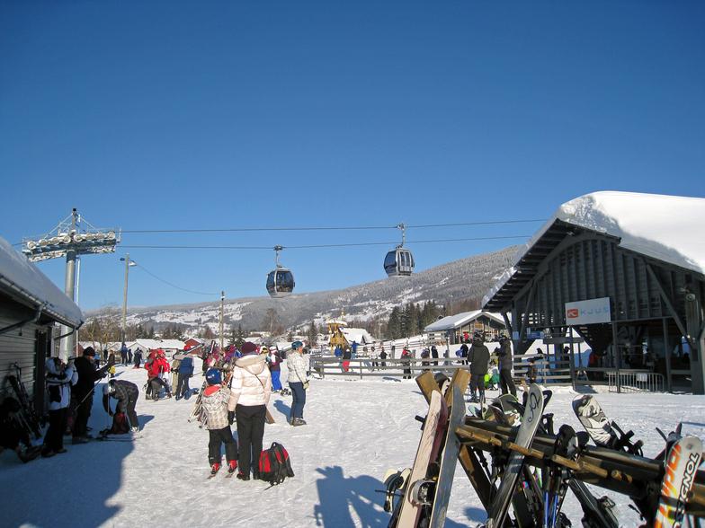 Ski Resort in Norway, Hafjell