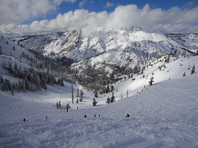 Bear Valley snow