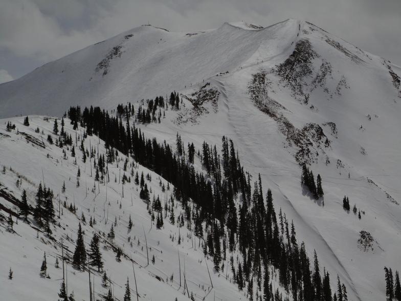 Aspen Highlands snow