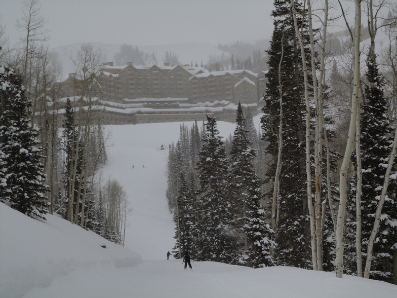 Deer Valley snow