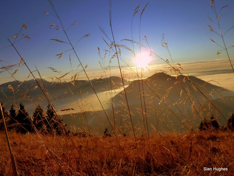 Sunset from Praz de Lys, Praz De Lys Sommand