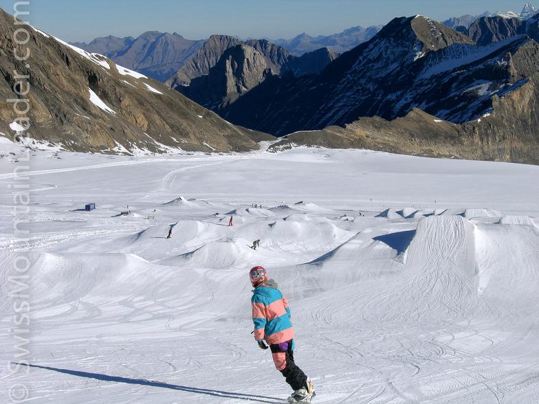 Snowpark on Glacier 3000, Les Diablerets