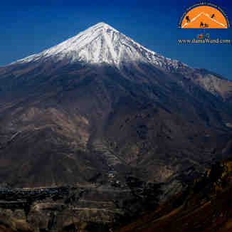 Damavand North East face, Mount Damavand