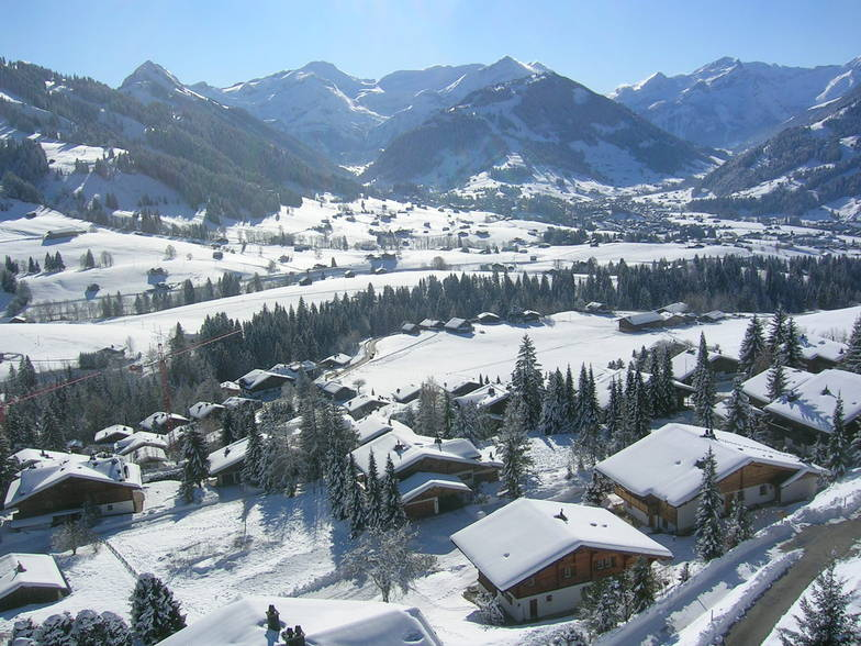 Gstaad snow